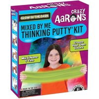 Crazy Aarons Mixed by Me Glow in the Dark Thinking Putty Kit