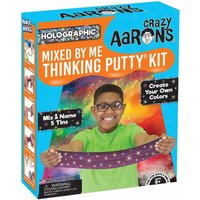 Crazy Aarons Mixed by Me Holographic Thinking Putty Kit