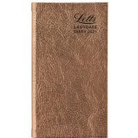 Image of Letts Ladydate Diary Week to View Pocket 2021 Rose Gold, Rose Gold