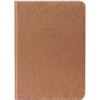 Image of Letts Sparkle Diary Week to View A6 2021 Rose Gold, Rose Gold