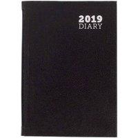 Ryman Diary Week to View Pocket 2019, Black