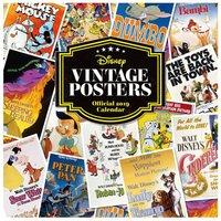 Disney Vintage Posters Wall Calendar 2019