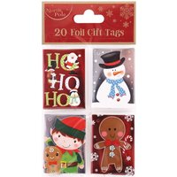 Click to view product details and reviews for Christmas Gift Tags Pack Of 20.