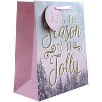 Click to view product details and reviews for Tis The Season Christmas Gift Bag Medium.