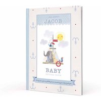 Personalised Baby Book Boys