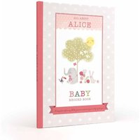 Personalised Baby Book Girls