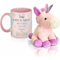 Personalised Unicorn Mug and Plush Toy
