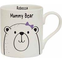 Personalised Mummy Bear Mug