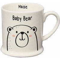 Personalised Baby Bear Small Mug