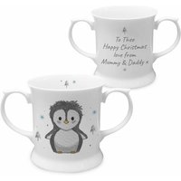 Personalised Pebbles the Penguin Cup