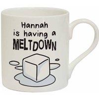 Personalised Chunky Meltdown Mug