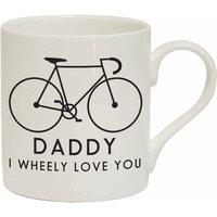 I Wheely Love You Male Bike Personalised Mug
