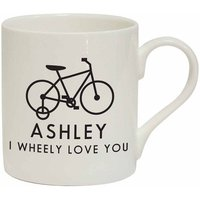 I Wheely Love You Childs Bike Personalised Mug