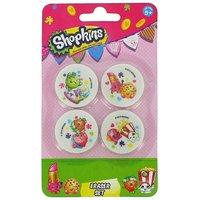 Shopkins Eraser Set of 4