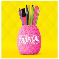 Totally Tropical Pineapple Pen Pot, Pink