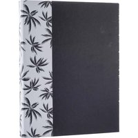 Image of Black and Gold Palm Tree Ringbinder A4