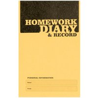 Image of Silvine A6 Homework Diary 75gsm Pack of 20