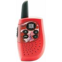 Cobra HM230B Walkie Talkie, Red