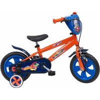 Hot Wheels 12 Inch Nylon Wheel Childrens Bicycle, Orange