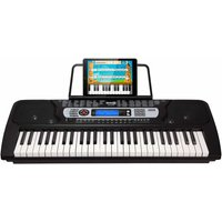 RockJam RJ654 54 Key Portable Electronic Keyboard with Music Stand and Interactive LCD Screen