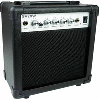 RockJam RJ20W 20 Watt Guitar Amplifier for Electric Guitar