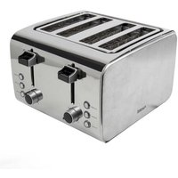Buy Igenix 4 Slice Toaster Stainless Steel Brush and Polish - Ryman