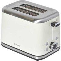 Buy Igenix 2 Slice Toaster Almond Brushed Stainless Steel - Ryman