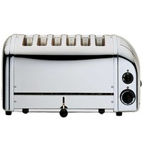 Buy Dualit 6 Slice Toaster Polished Stainless Steel - Ryman