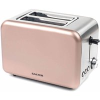 Buy Salter Metallic Polaris 2-Slice Toaster 850W, Champagne - Ryman
