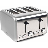 Buy Salter Metallic Polaris 4 Slice Toaster 1500W, Titanium - Ryman