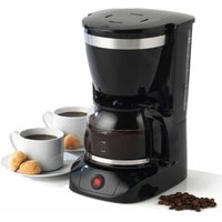 Salter Coffee Maker with Keep Warm Function 1.25L, Stainless Steel