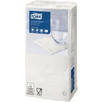 Tork Cocktail Napkins 24 x 24cm 2-Ply Pack of 200 White, White