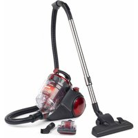 Beldray Quiet Multicyclonic Pet Vacuum Cleaner, Red