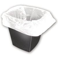 Square Bin Liner White - Pack 1000, White