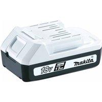 Makita 18V G Series Battery 1.5Ah, White