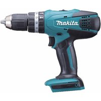 Makita G Series 18V Combi Drill with 2 Batteries and Charger plus 74 Piece Accessory Set, Teal