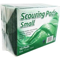 Economy Scouring Pads 150 x 115mm Pack of 10
