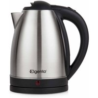 Elgento Brushed Stainless Steel Kettle 1.8L