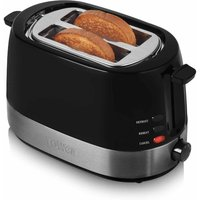 Buy Tower Two Slice Toaster Black, Black - Ryman