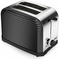 Buy Tower 2 Slice Linear Toaster Black, Black - Ryman