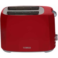 Buy Tower 2 Slice Toaster, Red - Ryman