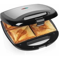 Buy Tower 4 Slice Stainless Steel Sandwich Maker, Black - Ryman