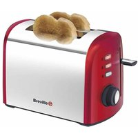 Buy Breville Red Collection 2 Slice Toaster, Red - Ryman