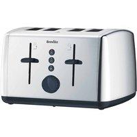 Buy Breville 4 Slice Stainless Steel Toaster, S/Steel - Ryman