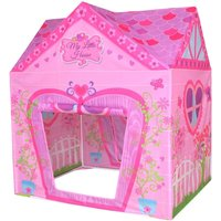 Charles Bentley My Little House Childrens Play Tent, Pink