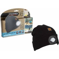 Discovery Adventures Beanie Hat with LED Light, Black