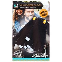 Discovery Adventures Touch Screen Gloves, Black