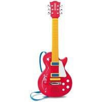 Charles Bentley Bontempi Kids Electronic Rock Guitar, Red