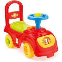 Charles Bentley Dolu Kids Push Along Sit n Ride Car with Under Seat Storage, Multi