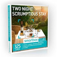 Buyagift Smartbox Two Night Scrumptious Stay Gift Experience